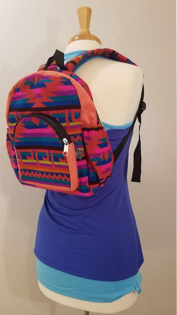 Mindfulness Gift Hemp Backpack Hippie Backpack