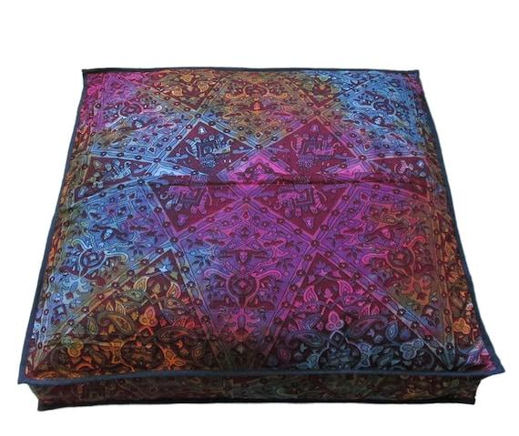 2 PC Astrology Zodiac Mandala Pillow cover Indian Cushion Cover Cotton Throw