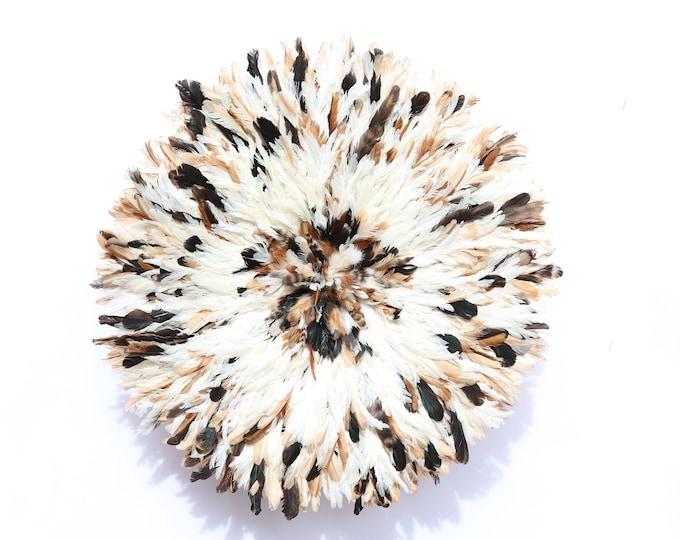 Juju Hat - White + Dark Natural