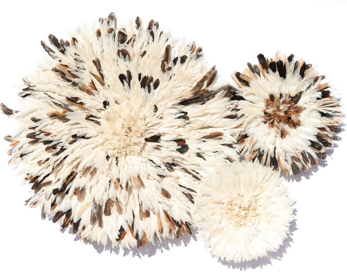 Juju Hat Collection - Set of 3 Speckled & Ivory