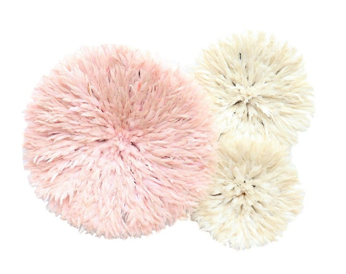 Juju Hat Collection - Blush + Ivory Set of 3