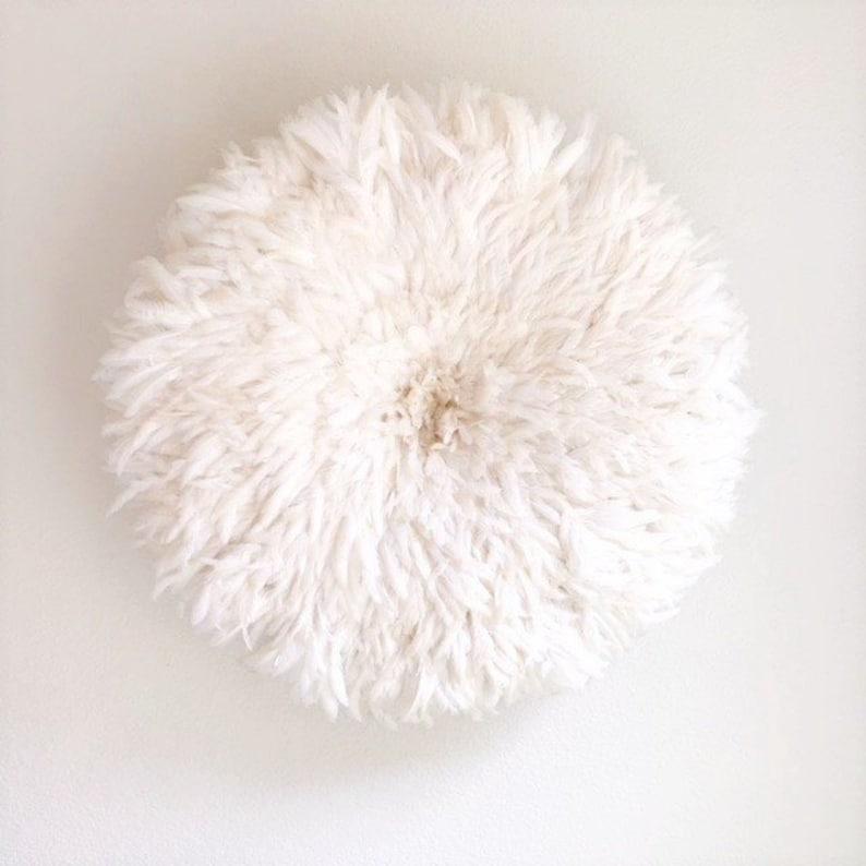 White juju hat