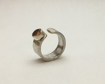 Hand Forged Silver Ring
