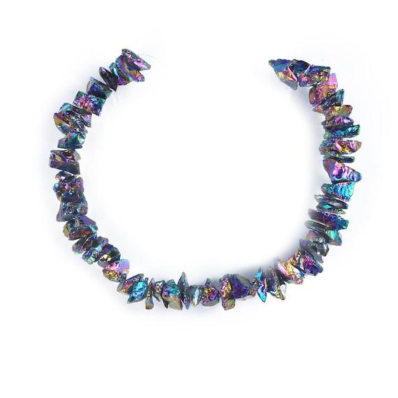 Crystal Quartz Plating Purple Beads,Beautiful Mysterious Crystal Quartz Beads,High Quality Bright Crystal Beads,Center Drilled Crystal Beads