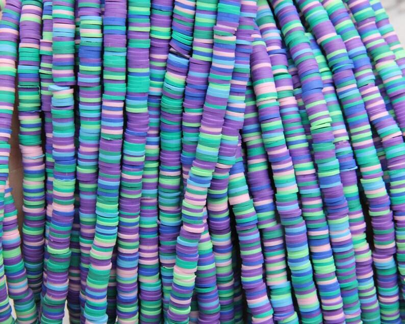 6mm8mm Vinyl Heishi Beads,New Color Vinyl Beads,Polymer Clay African Vinyl Disc Beads,Wholesale Vinyl Heishi DIY Making Jewelry Beads.