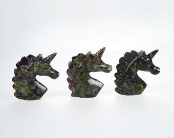 Unicorn Dragon Blood Stone Statues,Rooms Decor Figurines,Popular Decor Statues,Hand Engraving Statues,Good Quality Delicate Unicorn Statues.
