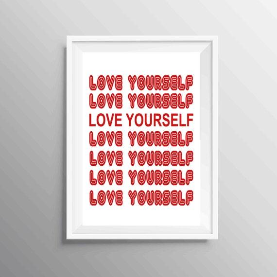 bts digital print bts love yourself poster bts digital wall
