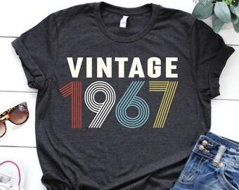 f01ebc375 1967 shirt - 52nd birthday shirt - gift for women - Vintage 1967 shirt -  52nd birthday shirt - 52nd Birthday - birthday shirt