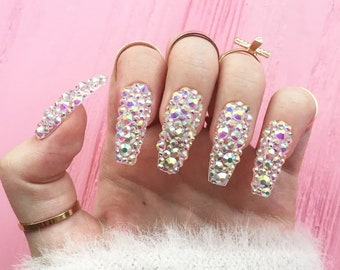 Fake Nails Etsy