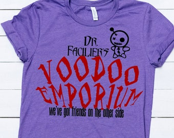 Princess /& the Frog Disney Unisex Girls /& Boys T shirt Dr Facilier Voodoo Ray