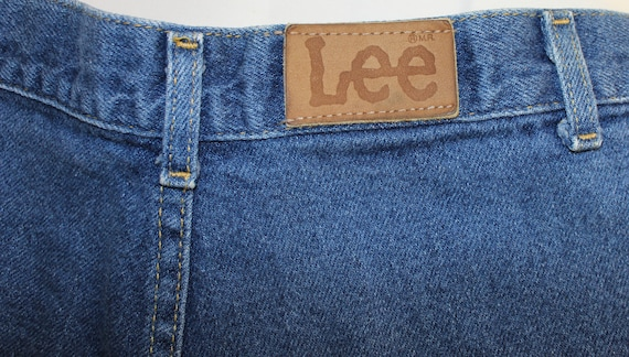 Vintage Pleated Front Women 's Lee Jeans Size 11