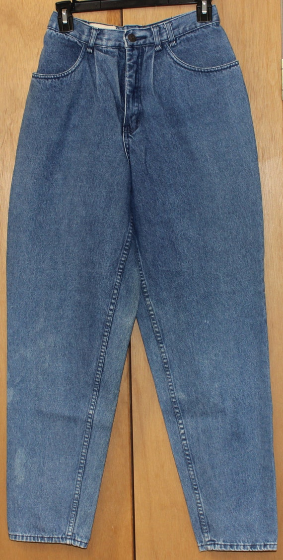 Vintage Coca Cola Jeans Pleated Front High Waist - image 3