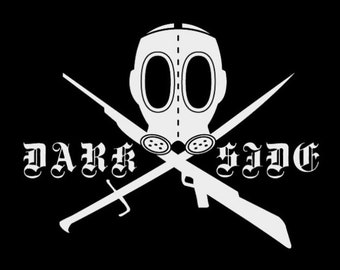 DARKSIDE LOGO FLAG