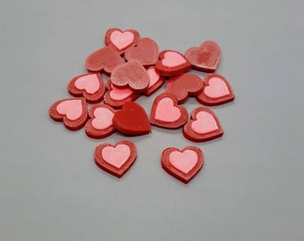 Heart Container Tokens - Keyforge Compatible Damage Tokens