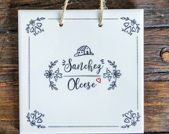 Personalized Welcome Sign - Custom Welcome Sign