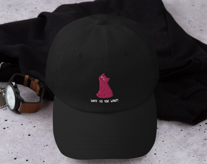 Featured listing image: Dad hat - What Do You Want?