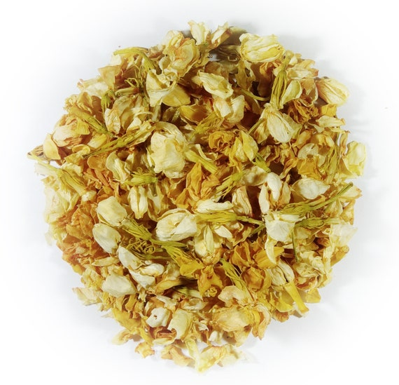 Cocina Jasmin flores secas Jasmine Artesanía Decoración Vela de jabón de baño té de hierbas