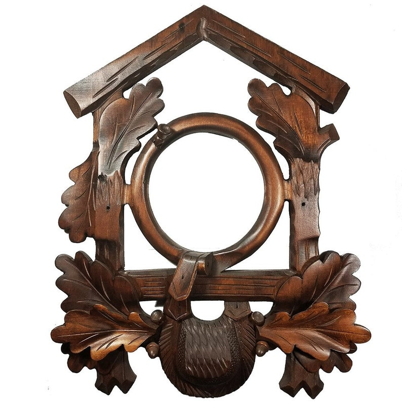 research.unir.net Cuckoo Clock Bird Unstained-Wood Collectables ...