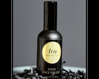 IRIS Satin Face Polish Facial Cleanser 100% natural ingredients