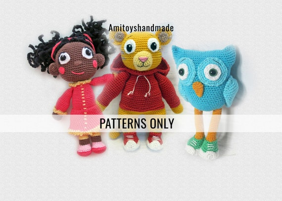 tiger crochet patterns Archives ⋆ Crochet Kingdom (6 free crochet patterns) | 407x570
