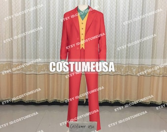 uk availability 69b5d 94fa0 Custom made Size Batman Joker Cosplay Costume