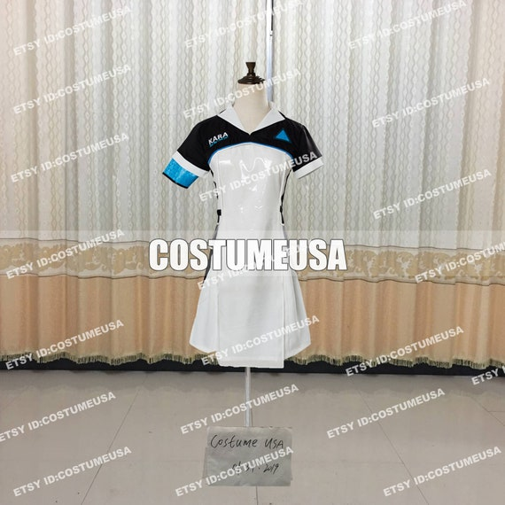 Become Human KARA Code AX400 Cosplay Costume Dress Suit Custom Made Detroit