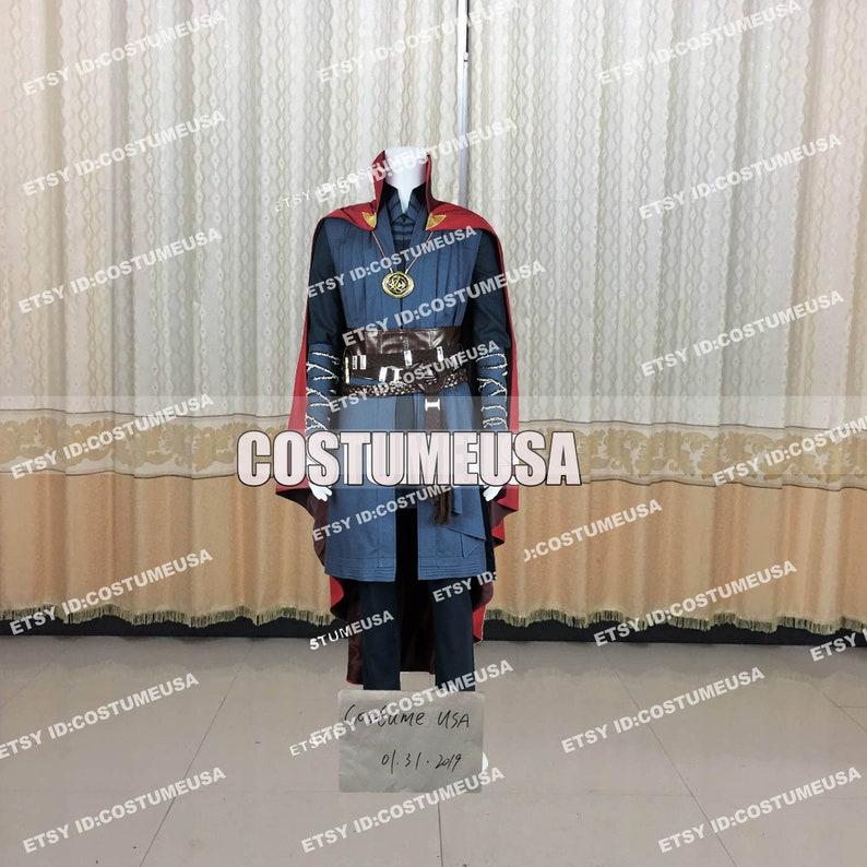 Custom made Size Doctor Strange Dr Stephen Cosplay Costume