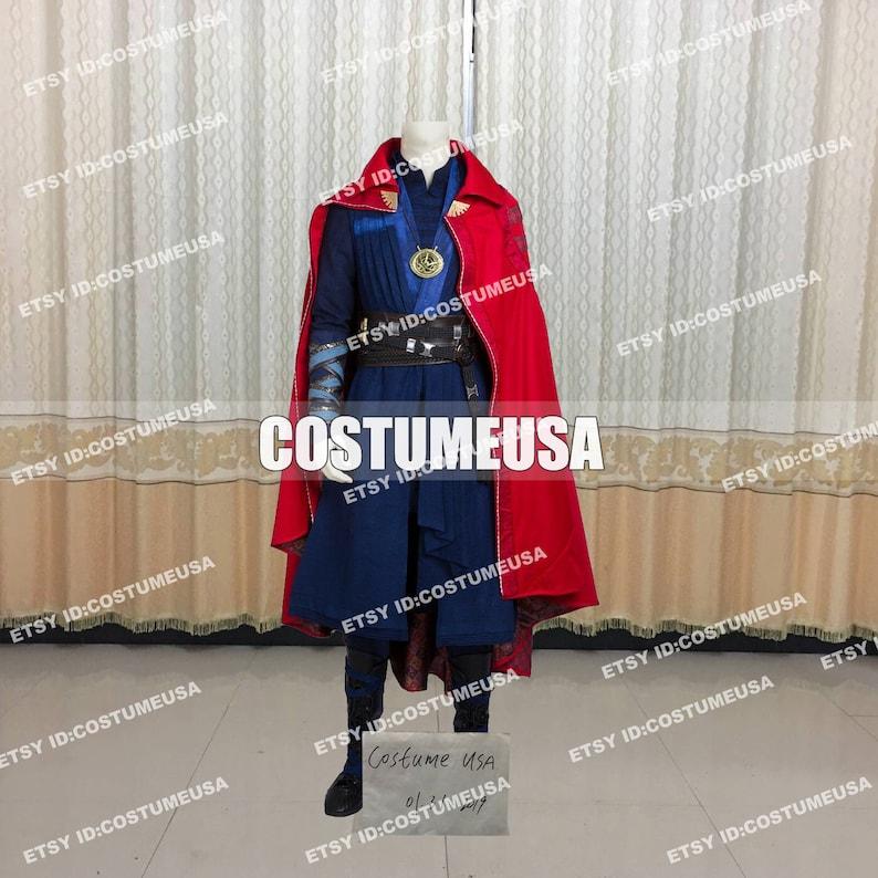 Custom made Size Doctor Strange Cosplay