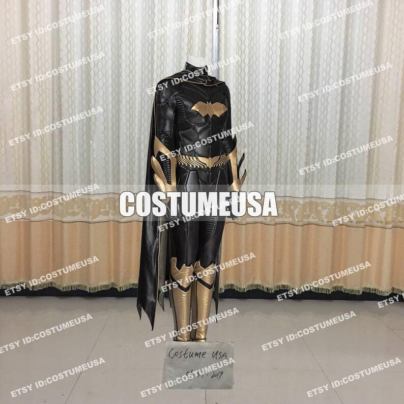 Custom made Size Batman Arkham Knight Batgirl Cosplay Costume