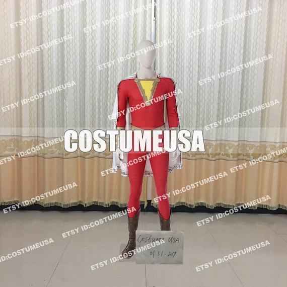 Custom Made Size Shazam Captain Marvel Billy Batson Cosplay Etsy Alibaba.com offers 896 captain marvel costume products. etsy