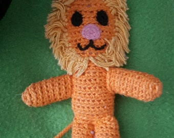 Hand Crochet Lion, for all ages