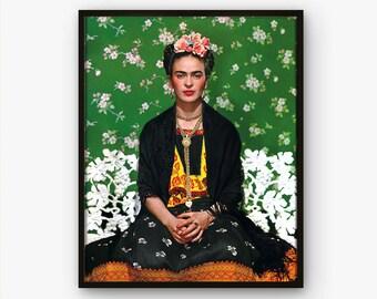Frida Kahlo Poster Etsy