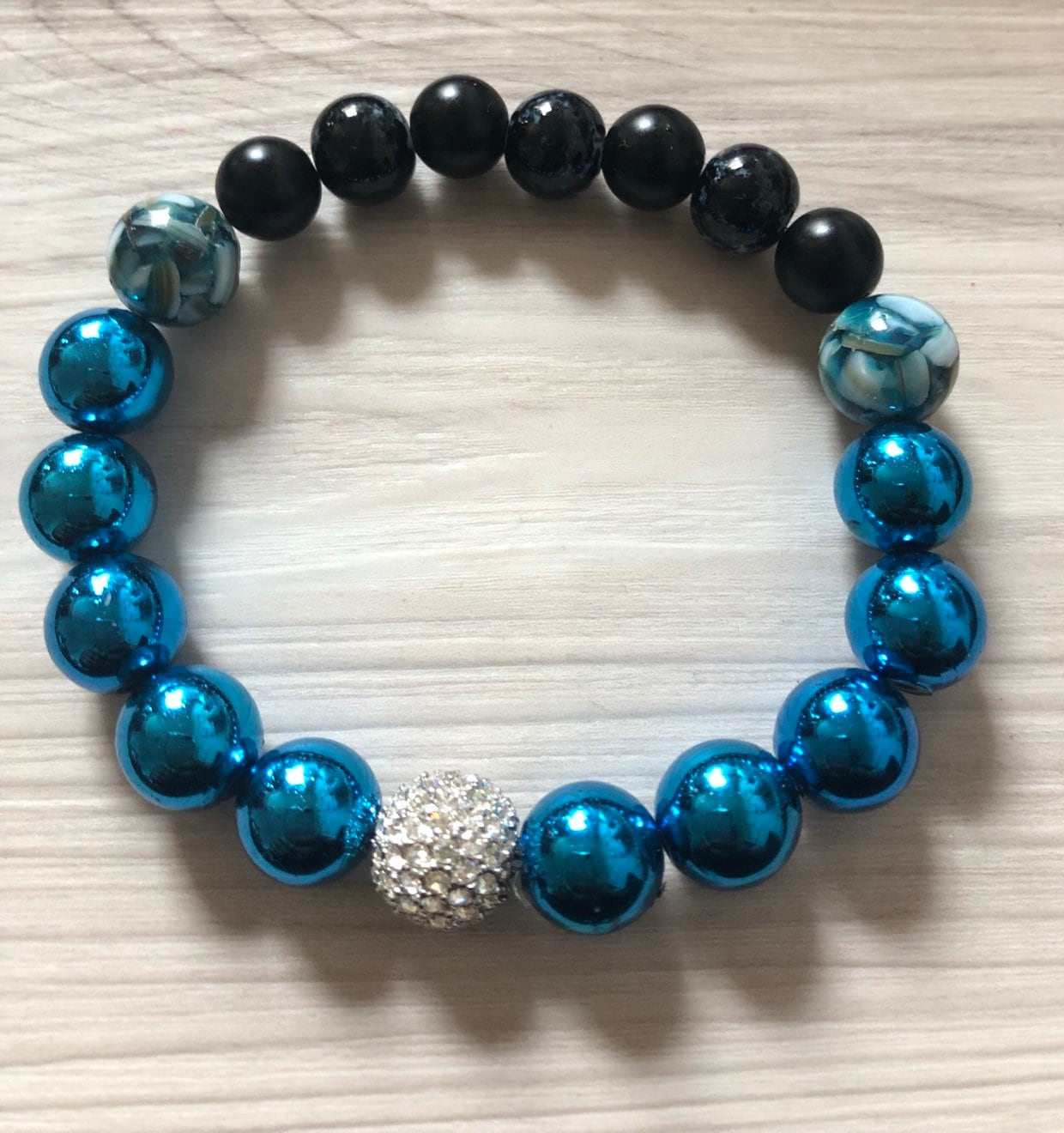 Black Owned Shop Intention Bracelet Gemstone Bracelet Healing Jewelry Jasper Accent Beaded Jewelry