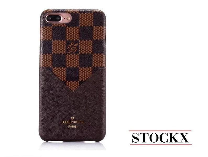 57ffd4a885d Louis Vuitton Phone Case, iPhone Case, iPhone 7 Case, iPhone 8 Case, iPhone  X Case, iPhone 8 Plus, Louis Vuitton Case, LV Checkered Brown