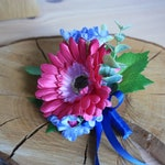 Matching Buttonhole Boutonniere for Bridal Bouquets