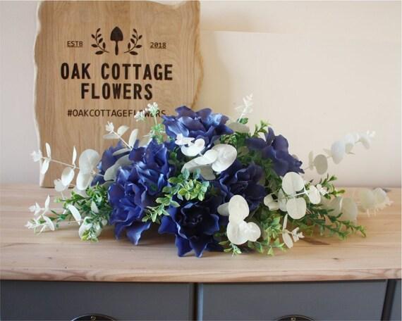 Table Centrepiece Artificial Wedding Flowers Wedding Table Decorations Table Centerpieces Oak Cottage Flowers Oakcottageflowers
