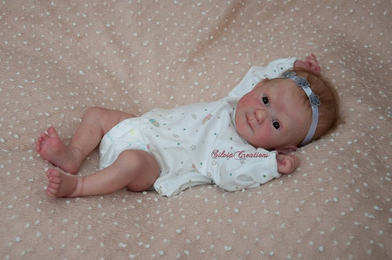 VINYL PARTS ONLY Reborn Doll Supplies *BLANK* Theo Kit