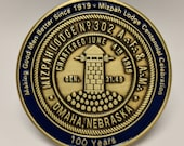 Mizpah Lodge Centennial Coin