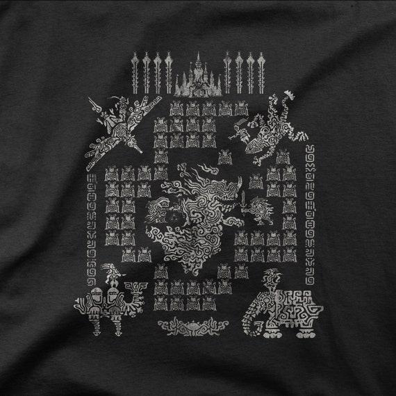 Botw Calamity Ganon Legend Shirt Zelda Breath Of The Wild Divine Beasts Shirt Legend Of Zelda Inspired Tee Gamer Shirt Gaming Gift