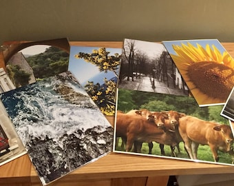 Fine Art Prints -  Pack of 2 individually wrapped designs from Sbphotoart collection (photograph shows some of the collection)