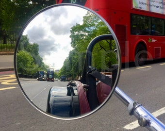 """Photographic Print on Fine Art Paper - A3 - """"Park Lane through the eyes of a Morgan"""" - Other sizes inc Mounted prints  (price on request)"""