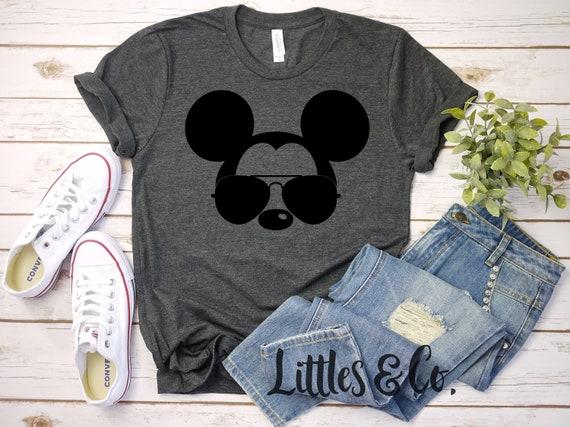 ebde9ca3 Disney Adult Mickey Shirt / Disney Family Shirts / Disney   Etsy