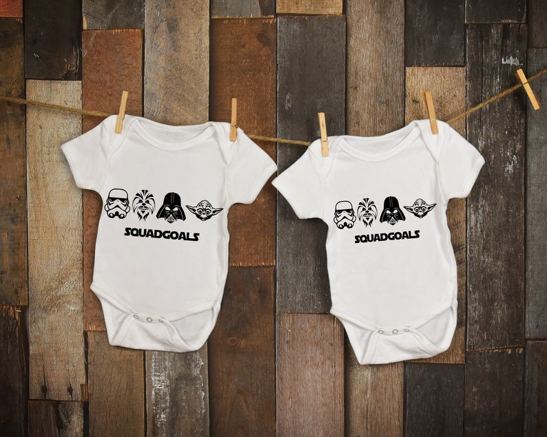 f82d40026 Star Wars Onesie   Twins Outfits   Twin Onesies   Twins Disney