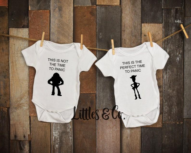 c17454285910 Twin Onesies   Toy Story Shirt   Twins   Twins Disney Onesies
