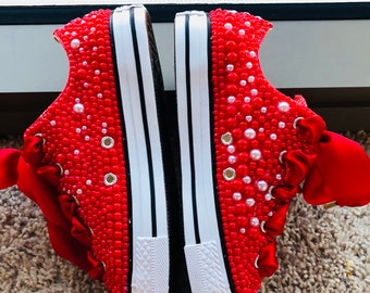 Dorthy red  Chuck Taylor's