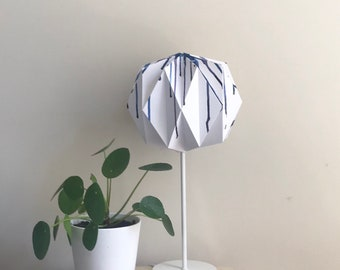 Dripping Origami Lampshade