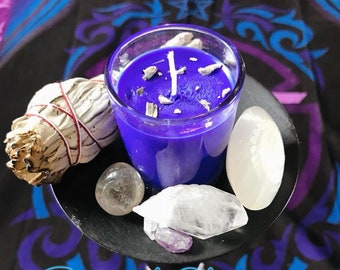 Spiritual healing votives