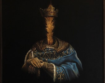 Painting by Musheg Hovsepyan. Oil on canvas. Fine art.