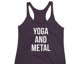 a267c859968109 Yoga and Metal Tank