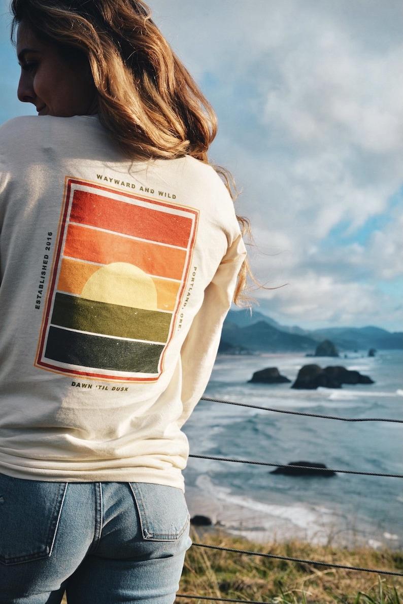 Dawn \u2018til Dusk Long Sleeve T-Shirt Wayward /& Wild